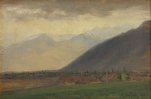Image of Idyll of The Wasatch Valley