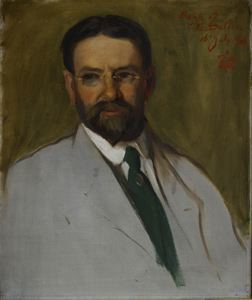 Image of Portrait Sketch of Cyrus E. Dallin