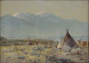 Image of Tepees, Utah County