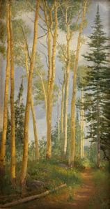 Image of Quaking Aspens, Brighton