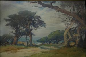 Image of A Grey Day, End of 17 Mile, Carmel