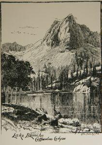 Image of Lake Blanche, Cottonwood Canyon