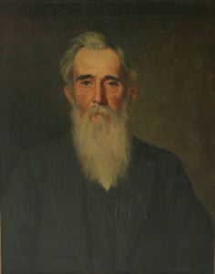 Image of Portrait of Dr. George L. Smart's Father, Hezeiah