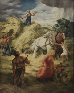 Image of Farmer and the Raincloud