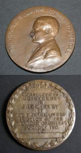 Image of Theodore William Richards Medal 1868 1928