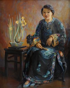 Image of Suey Sin Fah (Two Chinese Lilies)