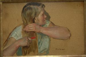Image of Blond Girl (study)