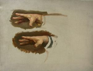 Image of Study of Lenin's Hands from 'We Have This Party'
