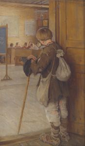 Image of By the School Door: The Reluctant Scholar