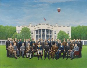 Image of A Meeting of the American Presidents
