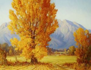 Image of October Gold: Timpanogas in Autumn