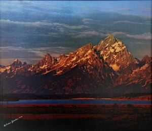 Image of Sunrise, Willow Flats Grand Teton, National Park