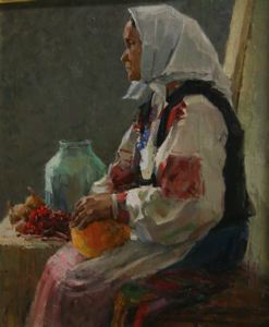 Image of Portrait of a Peasant Woman