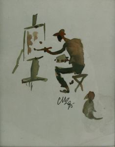 Image of Untitled (Self Portrait)
