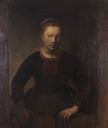 Image of Dutch Girl (copy after Rembrandt)