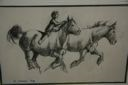 Image of Boy Riding Horse