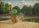 Image of Boyarina Going to Market, Velecem Countryside in Summer