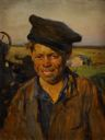 Image of Sashka the Tractor Driver in Virgin Lands (study)